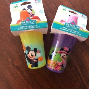 Disney sippy cups!